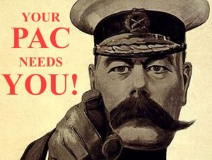 YOUR PAC NEEDS YOU